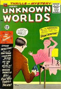 Cover Thumbnail for Unknown Worlds (American Comics Group, 1960 series) #12