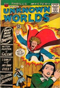 Cover Thumbnail for Unknown Worlds (American Comics Group, 1960 series) #18