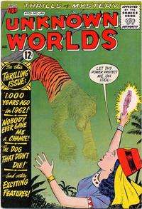 Cover Thumbnail for Unknown Worlds (American Comics Group, 1960 series) #20