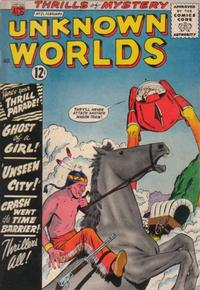 Cover Thumbnail for Unknown Worlds (American Comics Group, 1960 series) #21