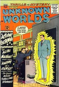 Cover Thumbnail for Unknown Worlds (American Comics Group, 1960 series) #41