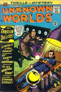 Cover Thumbnail for Unknown Worlds (American Comics Group, 1960 series) #50