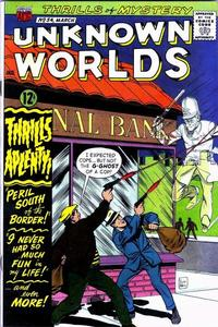 Cover Thumbnail for Unknown Worlds (American Comics Group, 1960 series) #54