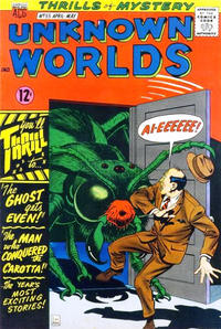 Cover Thumbnail for Unknown Worlds (American Comics Group, 1960 series) #55