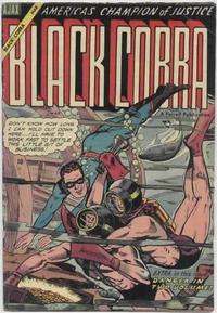 Cover Thumbnail for Black Cobra (Farrell, 1954 series) #3