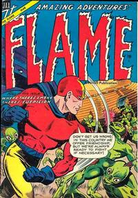 Cover Thumbnail for The Flame (Farrell, 1954 series) #2