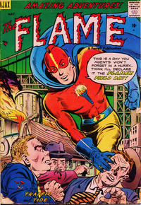 Cover Thumbnail for The Flame (Farrell, 1954 series) #3