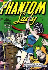 Cover Thumbnail for Phantom Lady (Farrell, 1954 series) #5 [1]