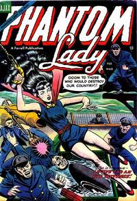 Cover Thumbnail for Phantom Lady (Farrell, 1954 series) #2