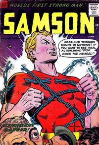 Cover Thumbnail for Samson (Farrell, 1955 series) #13