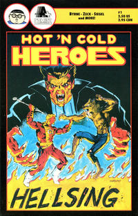 Cover Thumbnail for Hot 'N Cold Heroes (A-Plus Comics, 1990 series) #1
