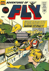 Cover Thumbnail for Adventures of The Fly (Archie, 1960 series) #20