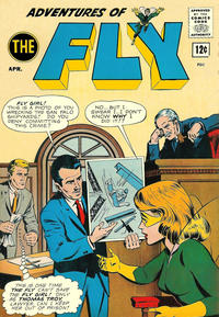 Cover Thumbnail for Adventures of The Fly (Archie, 1960 series) #25 [12¢]
