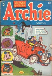 Cover Thumbnail for Archie Comics (Archie, 1942 series) #2