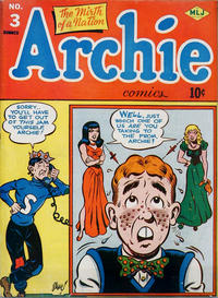 Cover Thumbnail for Archie Comics (Archie, 1942 series) #3