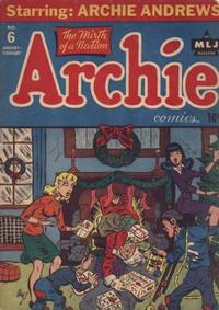Cover Thumbnail for Archie Comics (Archie, 1942 series) #6
