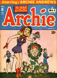 Cover Thumbnail for Archie Comics (Archie, 1942 series) #8