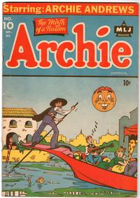 Cover Thumbnail for Archie Comics (Archie, 1942 series) #10