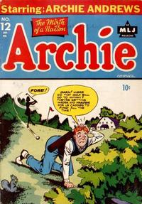 Cover Thumbnail for Archie Comics (Archie, 1942 series) #12