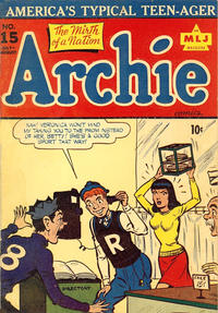 Cover Thumbnail for Archie Comics (Archie, 1942 series) #15