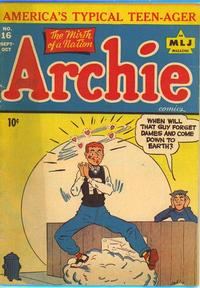 Cover Thumbnail for Archie Comics (Archie, 1942 series) #16