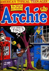 Cover Thumbnail for Archie Comics (Archie, 1942 series) #17