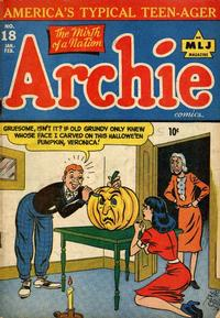 Cover Thumbnail for Archie Comics (Archie, 1942 series) #18
