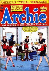 Cover Thumbnail for Archie Comics (Archie, 1942 series) #19