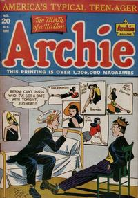 Cover Thumbnail for Archie Comics (Archie, 1942 series) #20