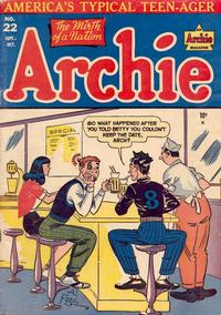 Cover Thumbnail for Archie Comics (Archie, 1942 series) #22