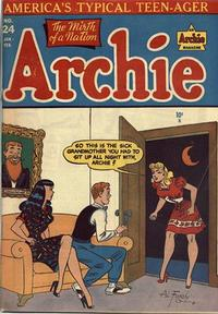 Cover Thumbnail for Archie Comics (Archie, 1942 series) #24