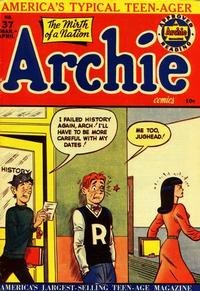 Cover Thumbnail for Archie Comics (Archie, 1942 series) #37