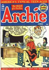Cover Thumbnail for Archie Comics (Archie, 1942 series) #38