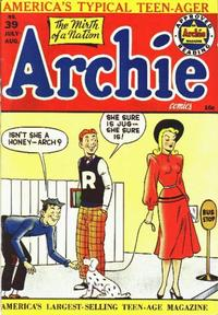 Cover Thumbnail for Archie Comics (Archie, 1942 series) #39
