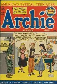 Cover Thumbnail for Archie Comics (Archie, 1942 series) #45