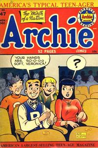 Cover for Archie Comics (Archie, 1942 series) #47