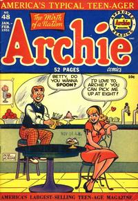 Cover Thumbnail for Archie Comics (Archie, 1942 series) #48