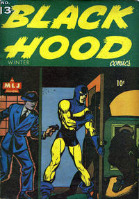Cover Thumbnail for Black Hood Comics (Archie, 1943 series) #13