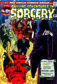 Cover Thumbnail for Chilling Adventures in Sorcery (Archie, 1973 series) #3