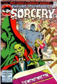 Cover Thumbnail for Chilling Adventures in Sorcery (Archie, 1973 series) #4