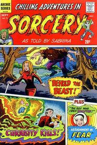 Cover Thumbnail for Chilling Adventures in Sorcery as Told by Sabrina (Archie, 1972 series) #1