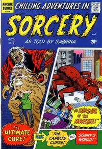 Cover Thumbnail for Chilling Adventures in Sorcery as Told by Sabrina (Archie, 1972 series) #2