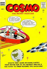 Cover Thumbnail for Cosmo the Merry Martian (Archie, 1958 series) #6