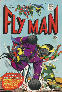 Cover Thumbnail for Fly Man (Archie, 1965 series) #32