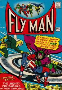Cover Thumbnail for Fly Man (Archie, 1965 series) #33