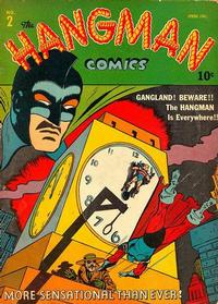 Cover for Hangman Comics (Archie, 1942 series) #2