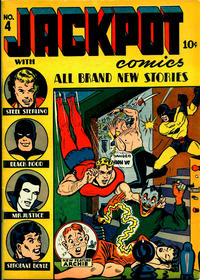Cover Thumbnail for Jackpot Comics (Archie, 1941 series) #4