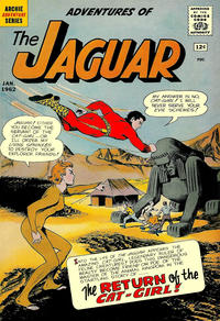 Cover Thumbnail for Adventures of the Jaguar (Archie, 1961 series) #4