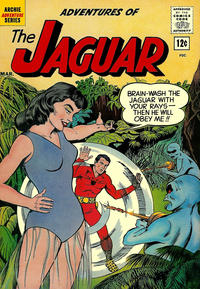 Cover Thumbnail for Adventures of the Jaguar (Archie, 1961 series) #5