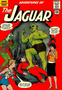Cover Thumbnail for Adventures of the Jaguar (Archie, 1961 series) #7